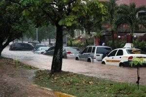 Lluvia en Valencia al día siguiente